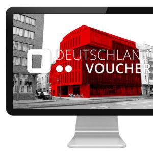 Deutschland Voucher Logo